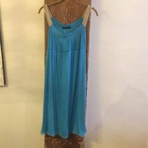 Beautiful Elie Tahari Aqua Dress.